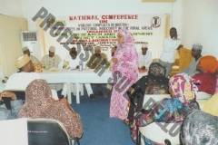 Participants at National Conference on Violent Conflicts in Nigeria. Organized by ARADA & Mambayya House