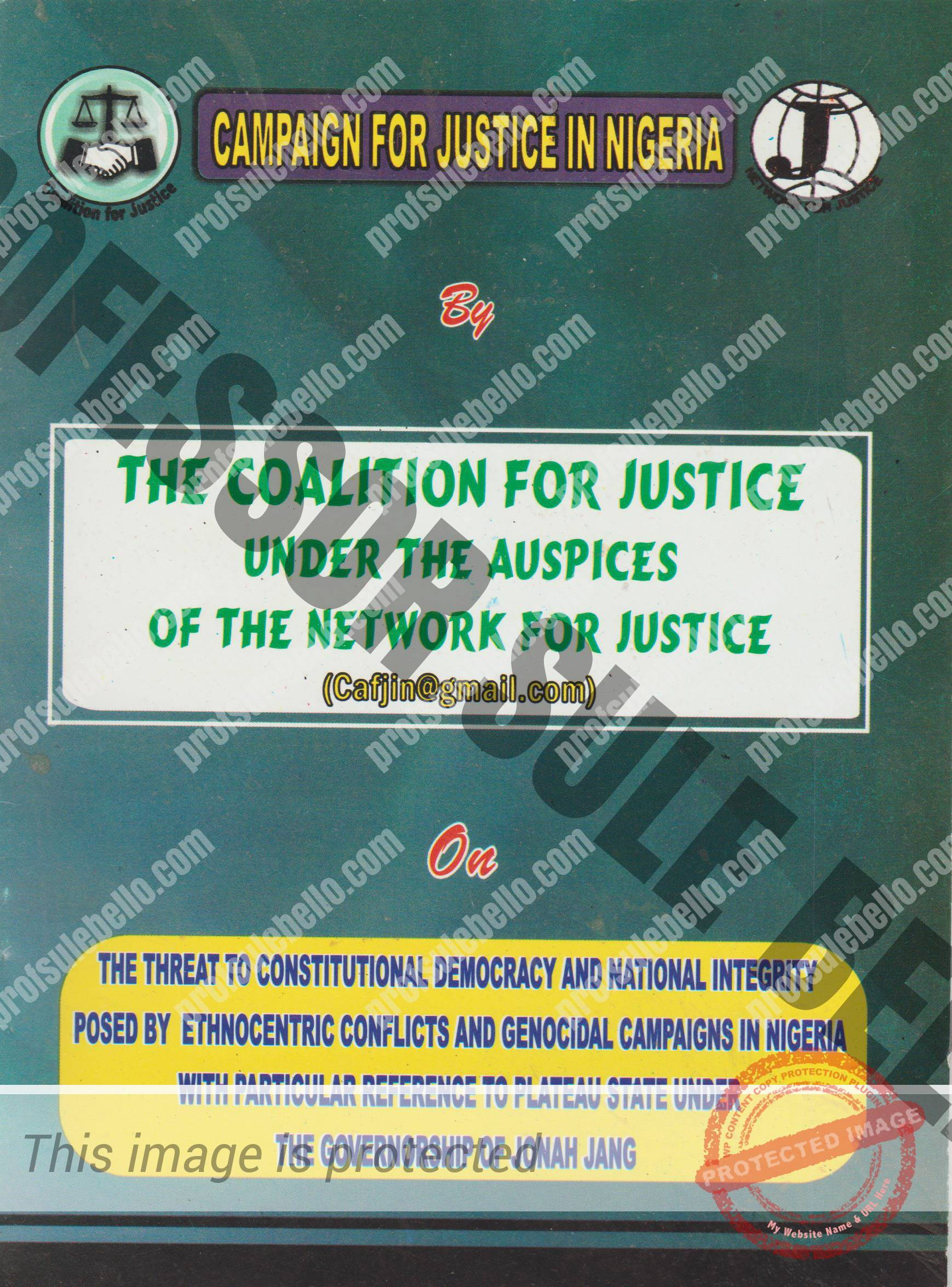 Campaing For Justice